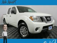 CARFAX One-Owner. Frontier SV, 4D Crew Cab, 4.0L V6