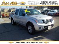 From work to weekends, this Gray 2016 Nissan Frontier