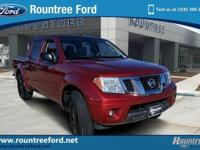 We are excited to offer this 2016 Nissan Frontier.