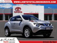 Brilliant Silver 2016 Nissan Juke S FWD CVT with