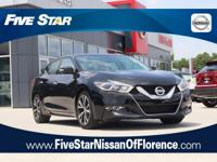2016 Nissan Maxima 3.5 SL Super Black 4D Sedan 3.5L V6