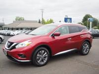 CarFax 1-Owner, LOW MILES, This 2016 Nissan Murano SL