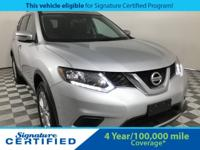 2016 Nissan Rogue SV Odometer is 1344 miles below