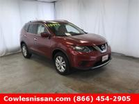 Cayenne Red 2016 Nissan Rogue SV AWD CVT with Xtronic