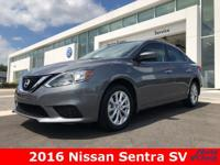 Text Justin Walker @  This 2016 Nissan Sentra SV comes