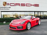 We are excited to offer this exceptional 2016 Boxster