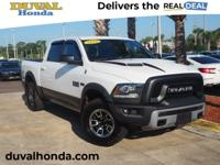 Recent Arrival! This 2016 Ram 1500 Rebel in Bright