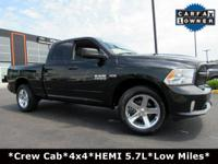 LOW MILES! 1-Owner, Clean Carfax History Report! HEMI