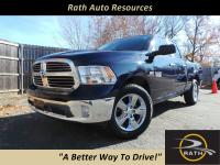 From mountains to mud, this Blue 2016 Ram 1500 Big Horn