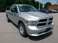 Recent Arrival! 2016 Ram 1500 Bright Silver Clearcoat