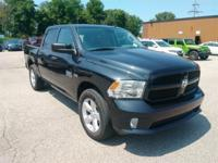 Recent Arrival! 2016 Ram 1500 Black Odometer is 23766