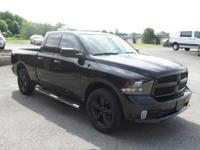 2016 RAM 1500 QUAD CAB, 5.7 HEMI, AC. PW, CALL OR STOP