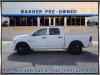 Bright White Clearcoat 2016 Ram 1500 Express 4D Crew