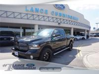 2016 Ram 1500 Sport Brilliant Black Crystal Pearlcoat