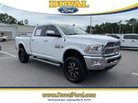Low miles and very clean 2016 Ram 2500 Laramie in
