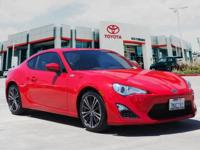CARFAX One-Owner. Clean CARFAX. Red 2016 Scion FR-S RWD
