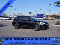 CARFAX One-Owner. 2016 Subaru Certified. Crystal Black