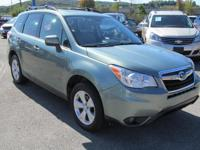 2016 SUBARU FORESTER LIMITED PW,PL, HEATED POWER SEATS,