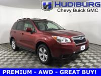 CARFAX One-Owner! Subaru Forester PREMIUM -  SUNROOF,