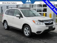 Heated Seats, Moonroof, 4 Wheel Drive, Forester 2.5i