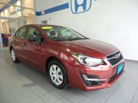 2016 Subaru Impreza 2.0i Air Conditioning, Brake