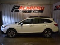 This 2016 Subaru Outback 2.5i in Crystal White Pearl
