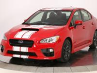 Pure Red 2016 Subaru WRX AWD 6-Speed Manual 2.0L DOHC