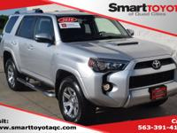 Certified. Classic Silver Metallic 2016 Toyota 4Runner