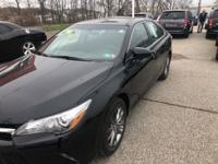 Recent Arrival! 2016 Toyota Camry SE Midnight Black