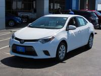Backup Camera, LE, 4-Speed Automatic, ABS brakes,