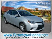 This 2016 Toyota Corolla LE Plus is offered to you for