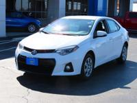 Convenience Package, Corolla S, 4D Sedan, 1.8L I4 DOHC