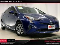 Certified. Blue 2016 Toyota Prius Four FWD CVT 1.8L