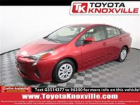 Clean CARFAX. Hypersonic Red 2016 Toyota Prius Two FWD