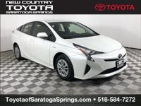 Certified. Blizzard Pearl 2016 Toyota Prius Two FWD CVT