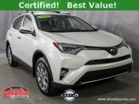 Recent Arrival! Certified. 2016 Toyota RAV4 Limited
