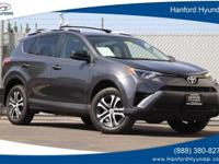 Gray 2016 Toyota RAV4 LE FWD 6-Speed Automatic 2.5L