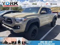 Brown 2016 Toyota Tacoma TRD Offroad 4WD 6-Speed