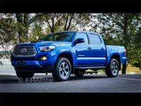 This Beautiful Blue 2016 Toyota Tacoma TRD Sport is an