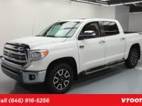 TRD OFF Road Package, 5.7L V8 Engine, Leather Seats,