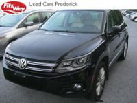 2016 Black Volkswagen Tiguan 6-Speed Automatic with