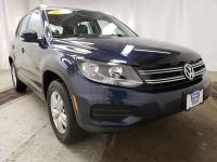 Blue 2016 Volkswagen Tiguan S FWD 6-Speed Automatic