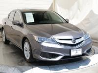 CARFAX One-Owner.  Certified. Gray 2017 Acura ILX