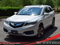 CARFAX One-Owner. 2017 Acura RDX Advance Package White