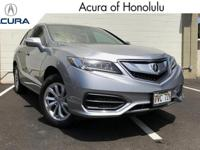 Excellent Condition, CARFAX 1-Owner, Acura Certified,