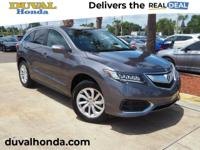 This 2017 Acura RDX AcuraWatch Plus Package in Gray