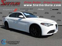 "GIULIA AWD.....2.0L TURBO 280HP.....17"" ALLOY WHEELS,"