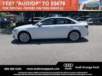 Audi Certified 5 years unlimited mile warranty. CARFAX