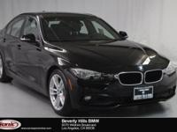 This 2017 BMW 320i is a One Owner vehicle with a Clean