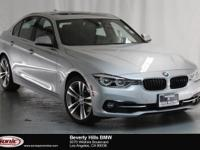 This 2017 BMW 330e iPerformance is a One Owner vehicle